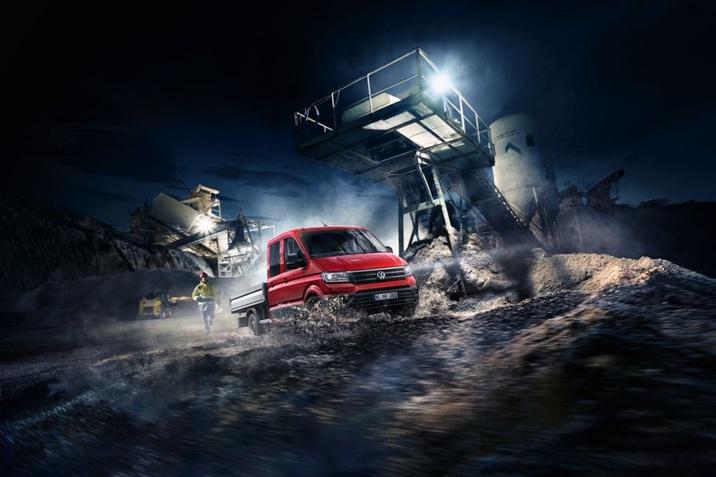 VW Crafter Doka HT 2.0 TDI 4Motion Tiptronic platós